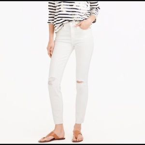 🌟NWT J.Crew Lookout High Rise Skinny Crop
